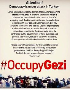 #istanbul #direngeziparkı #turkey #solidarity #taksim #freedom ...pls repin !!!   http://occupygezipics.tumblr.com/