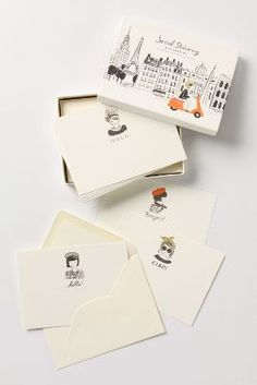hola! bonjour! ciao! hello! (global greeting note cards.)