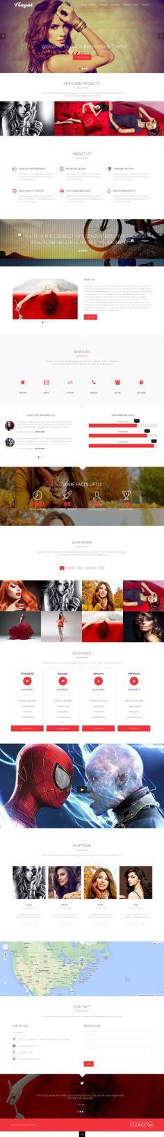 Aayat - Responsive One Page #HTML #Template. More info http://themeforest.net/item/aayat-responsive-one-page-multipurpose-parallax/7820229?ref=ubaidullahbutt