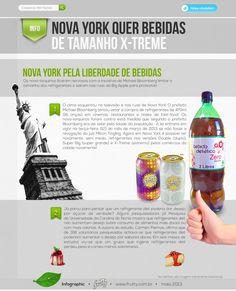 Nova York Quer Bebidas Tamanho X-Treme