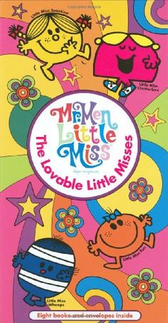 The Lovable Little Misses (Mr. Men and Little Miss) by Roger Hargreaves http://smile.amazon.com/dp/0843189584/ref=cm_sw_r_pi_dp_fxEHwb1TWFDGX