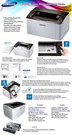 M2022W Xpress 20PPM Mono Laser Printer