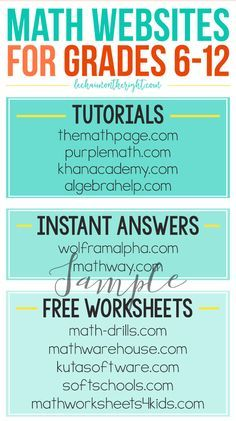Sample Math Websites for Grades - Mathe Ideen 2020 Math Tutor, Math Teacher, Math Classroom, Teaching Math, Math Math, Math Fractions, Learning Websites For Kids, Math Websites, Study Websites