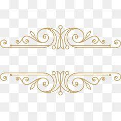 Laço de Ouro Islamic Background Vector, Best Background Images, Border Pattern, Border Design, Vector Design, Graphic Design, Love Png, Manicure Y Pedicure, Iphone Mobile