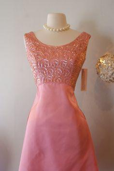 1960's Emma Party Dress