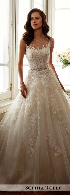 Shared - Lace Wedding Dresses With Sleeves Princess Wedding Dresses, Best Wedding Dresses, Wedding Attire, Bridal Dresses, Wedding Gowns, Bridesmaid Dresses, Bridesmaid Ideas, Wedding Ceremony, Princess Bridal