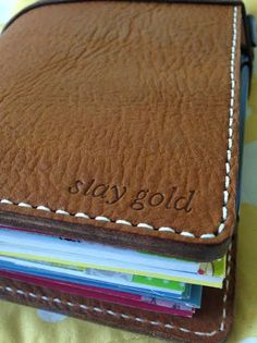 engraved chic sparrow notebook