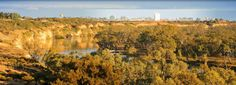 Waikerie on the Murray River in South Australia's Riverland #southaustralia