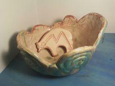 coil bowl and bear shape *alea mae 2012