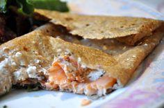 Deux idées de galettes salées : saumon-chèvre ou façon tartiflette - Dans la cuisine d'Audinette