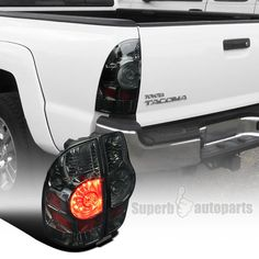 Set of Taillights Tail Lamps-Chrome Trim for Toyota Pickup Truck /& 4Runner