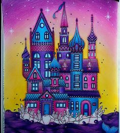 #Repost @anithesith with @repostapp ・・・ The Castle of Dreams ✨  #coloring…