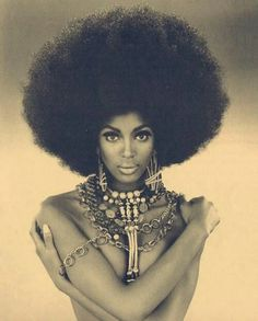 Afro   Big hair afro fashion style! All time old school swag!