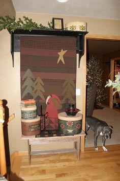 Love this quilt!  Lisa Bongean - Primitive Gathering
