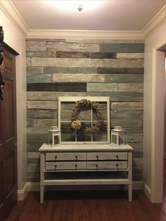 Farmhouse cottage bedroom plank walls 34 Ideas for 2019 Decor, Furniture, Trendy Seating, Home Furniture, Wood Home Decor, Wood Wall Design, Home Decor, Furniture Making, Pallet Wall Decor