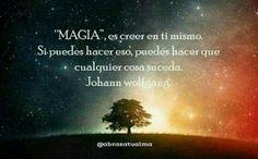 Haz Magia 💜   #escuelaparaelamorpropioincondicional #abrazatualma #amorpropio #amorincondicional #creeentimismo #magia #reflexiones