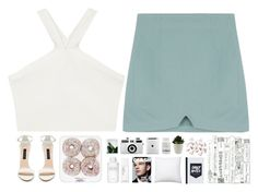 """""""Today"""" by spottdrossel ❤ liked on Polyvore featuring BCBGMAXAZRIA, Forever New, Byredo, NARS Cosmetics, Holga, Murad and Bobbi Brown Cosmetics"""