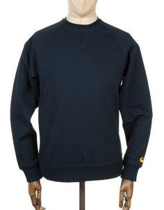 Carhartt Chase Sweatshirt - Navy