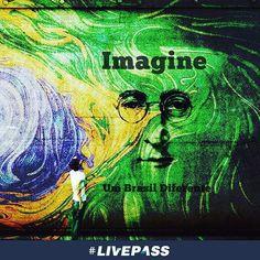"""""""Imagine não existir posses Me pergunto se você consegue Sem necessidade de ganância ou fome Uma irmandade do Homem Imagine todas as pessoas Compartilhando todo o mundo"""" John Lennon  #imagine #johnlennon #esperança #justiça #brasil #mundo #corruptos #corrupcao #ganancia #uniao #amoraoproximo #fazerobem #livepass"""