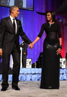 Michelle Obama - female role model and fashion icon, look at the MICHAEL KORS SKIRT!!!!!