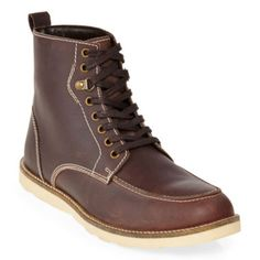 St. John's Bay® Drift Mens Leather Lace-Up Boots  found at @JCPenney