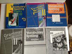 A Beka Book Language Curriculum Vocabulary, Writing and Grammar Home School