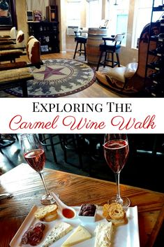 Find some of California's best wine tasting without a car on the Carmel Wine Walk. One of the best things to do in the Monterey, California area.
