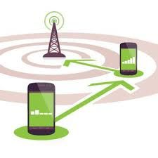 You'd have wires reaching from every cellphone to every phone mast. http://yellowjacketbroadband.com/