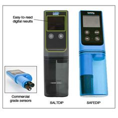 Electronic Pool Water Chemistry Testers