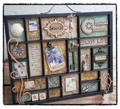 Rachel Greig's (Darkroom Door) Seaside Printer's Tray