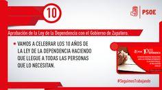 No descansaremos hasta que las personas dependientes disfruten de todos sus derechos #seguimosTrabajando #PSOE