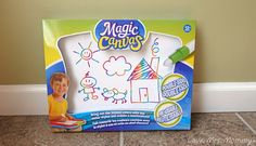 Love, Mrs. Mommy: Magic Canvas Makes Drawing A Colorful Surprise, Ev...