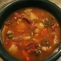 Hawaiian style Jambalaya.....Zippy's Portuguese bean soup.