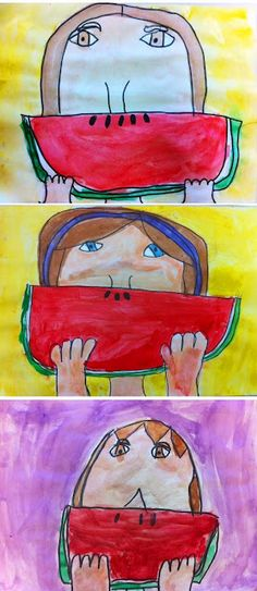 Watermelon smiles- grade 2/3