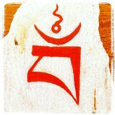 "karenmahmud: "" OM OM OM #vajrayogini #seedletter #buddha #bliss #emptiness """