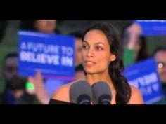 FULL Powerful Speech By Rosario Dawson At A New York Bernie Sanders Rall...