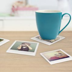 Photo Coasters (Pack of 4): Image 01