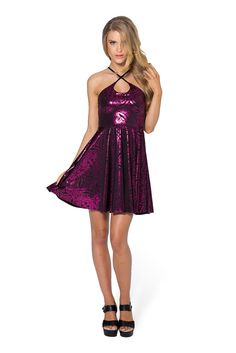 Geometric Floral Pink Reversible Straps Dress - LIMITED by Black Milk Clothing $80AUD
