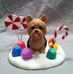 Candy Land Yorkie Terrier by Laurie Valko, via Flickr