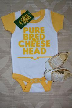 baby cheesehead shirt boys cheesehead tee by PurebredCheesehead Rodgers  Packers 388fdb393