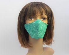 Schutzmaske, Mundmaske, 3D Schnitt, Mund,-Nasenschutzmaske Mundschutz, Baumwolle Beanie, 3d, Etsy, Fashion, Protective Mask, Cotton Textile, Masks, Cotton, Moda