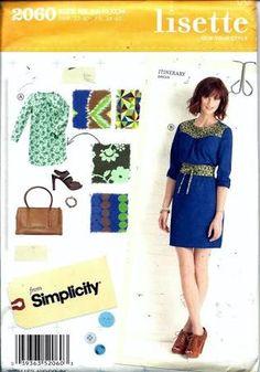 sewing shift dress pattern lisette - Google Search