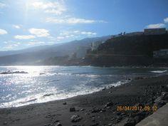 Ilhas Canárias - Espanha  Praia das Areias Negras
