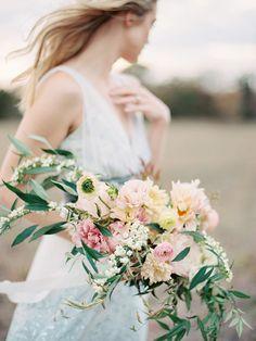 Romantic Spring Floral Inspiration   Wedding Ideas   Oncewed.com