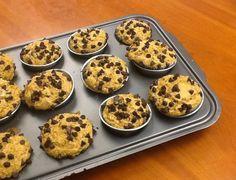 Creme+de+Avelãs:+Muffins+com+Abóbora+e+Chocolate+Negro+(Saudável)