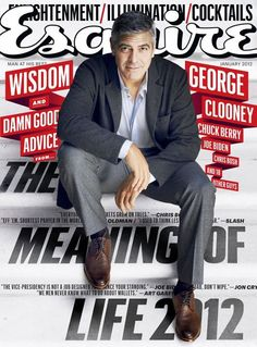 GEORGE CLOONEY  January 2012