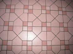 pink bath floor in Texas