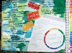 Color color color, starbursts and collages! :)