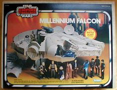 The Star Wars Millennium Falcon, boy did I love this thing.