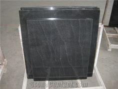 VA Jet Mist Granite Polished Grey Countertops, Granite Tile, Black Granite, Granite Polish, Kitchen Design, Kitchen Ideas, Kitchen And Bath, Mists, Home Appliances